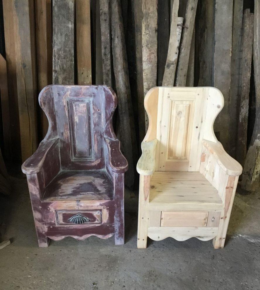 Wooden Childrens Chair