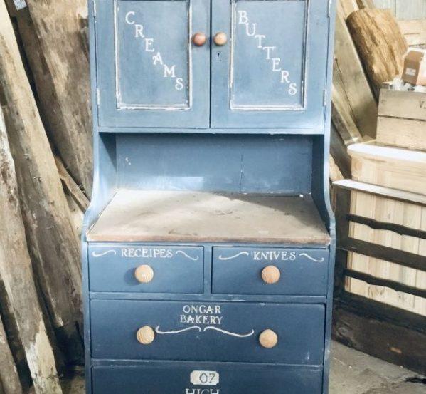 Blue Ongar Bakery Cabinet