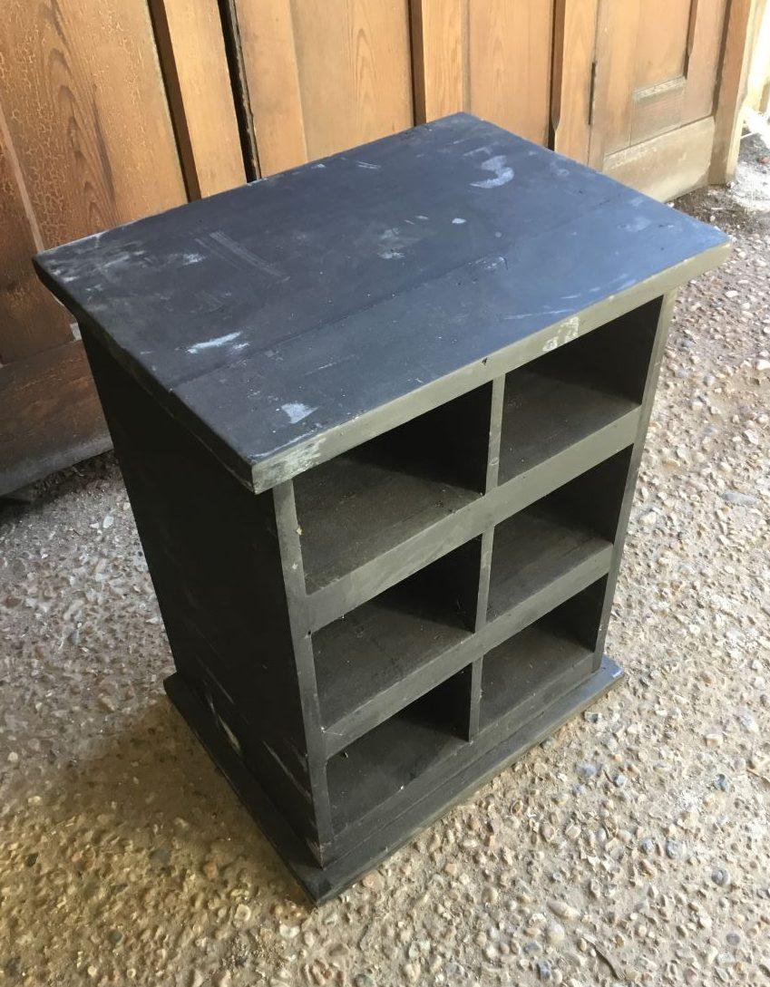 Black Wooden Cabinet