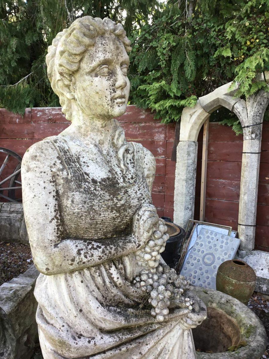 Tall Lady Statue