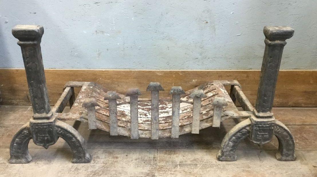 Fire Dogs Basket