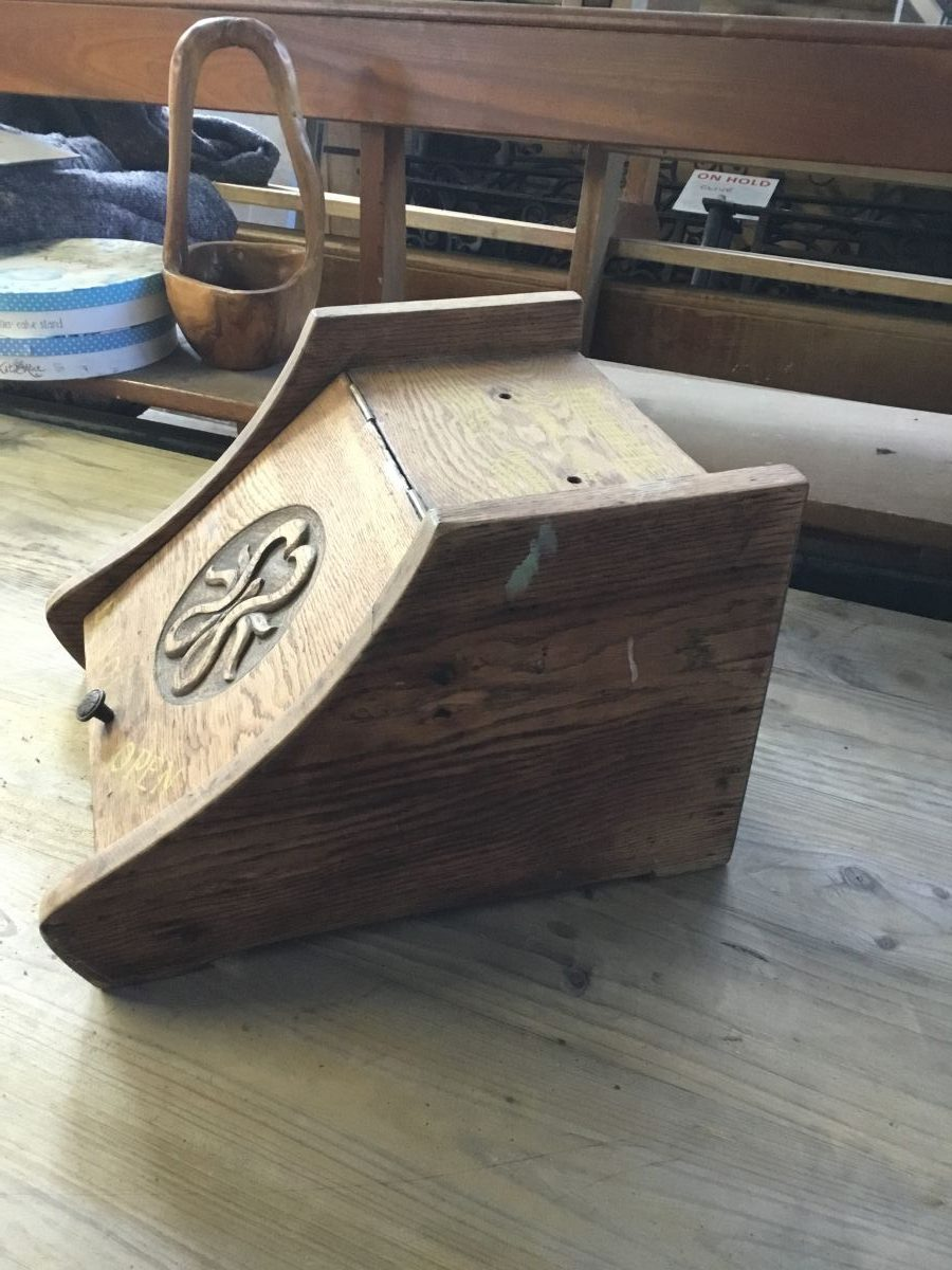 Small Wooden Storage Box