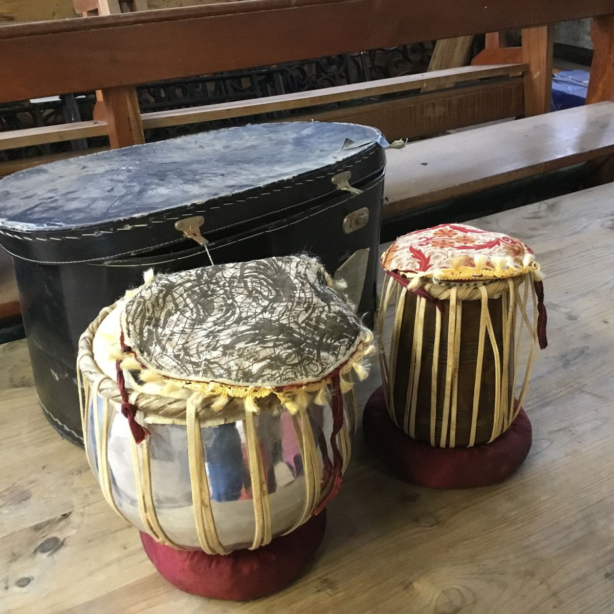 African Drums and Box