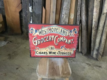 Grocery Company Sign