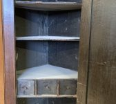 Corner Cupboard With Shelves