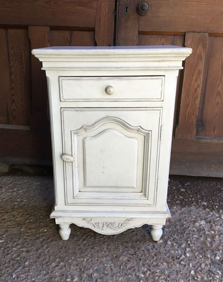 White French Bedside Table