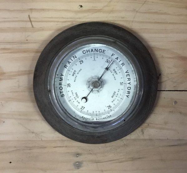 Wooden Framed Barometer