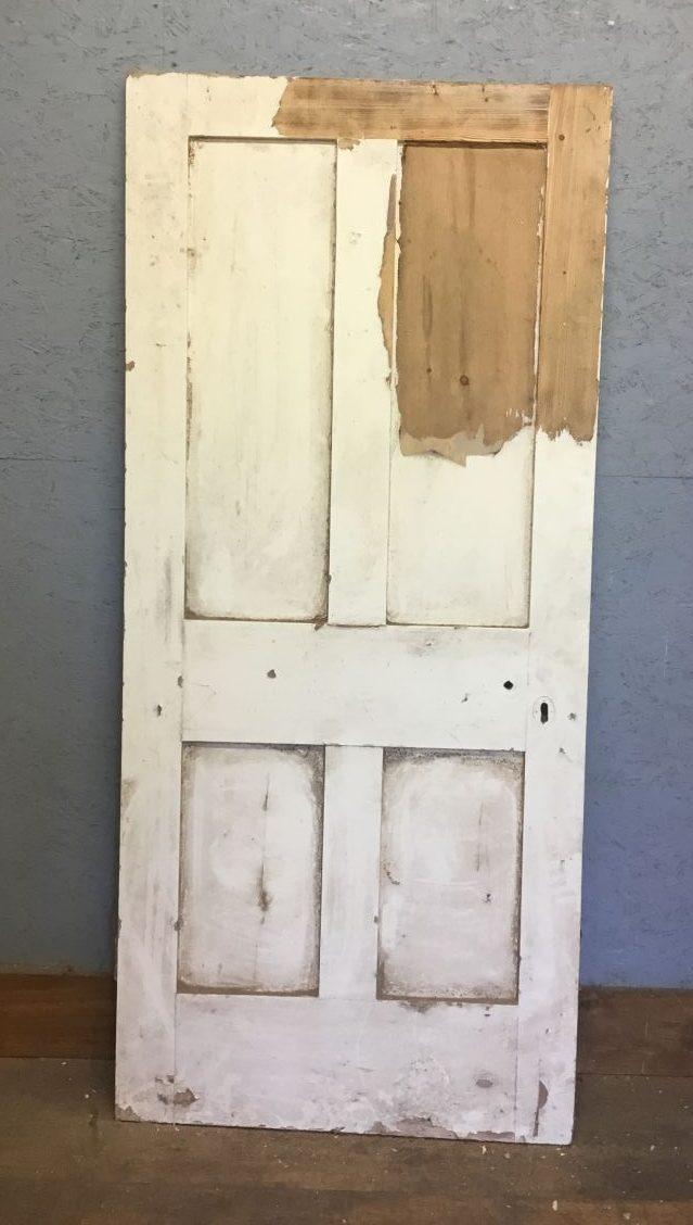 White Four Panel Door