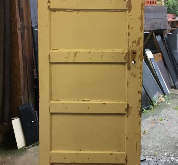 Half Glazed 5 Panel Pine Door