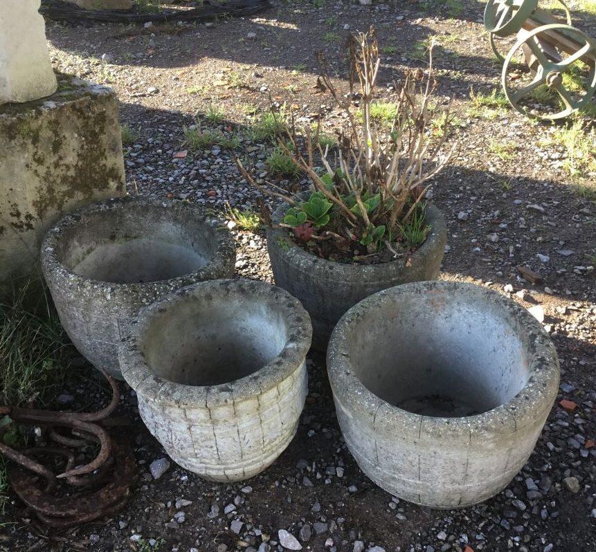 Reconstituted Stone Pots