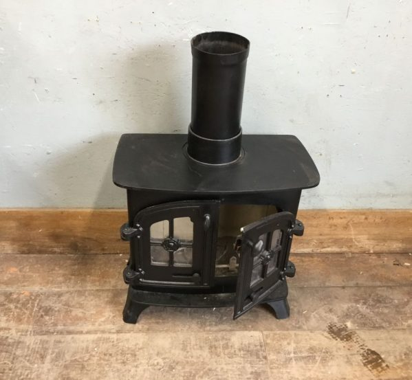 Black Wood Burner