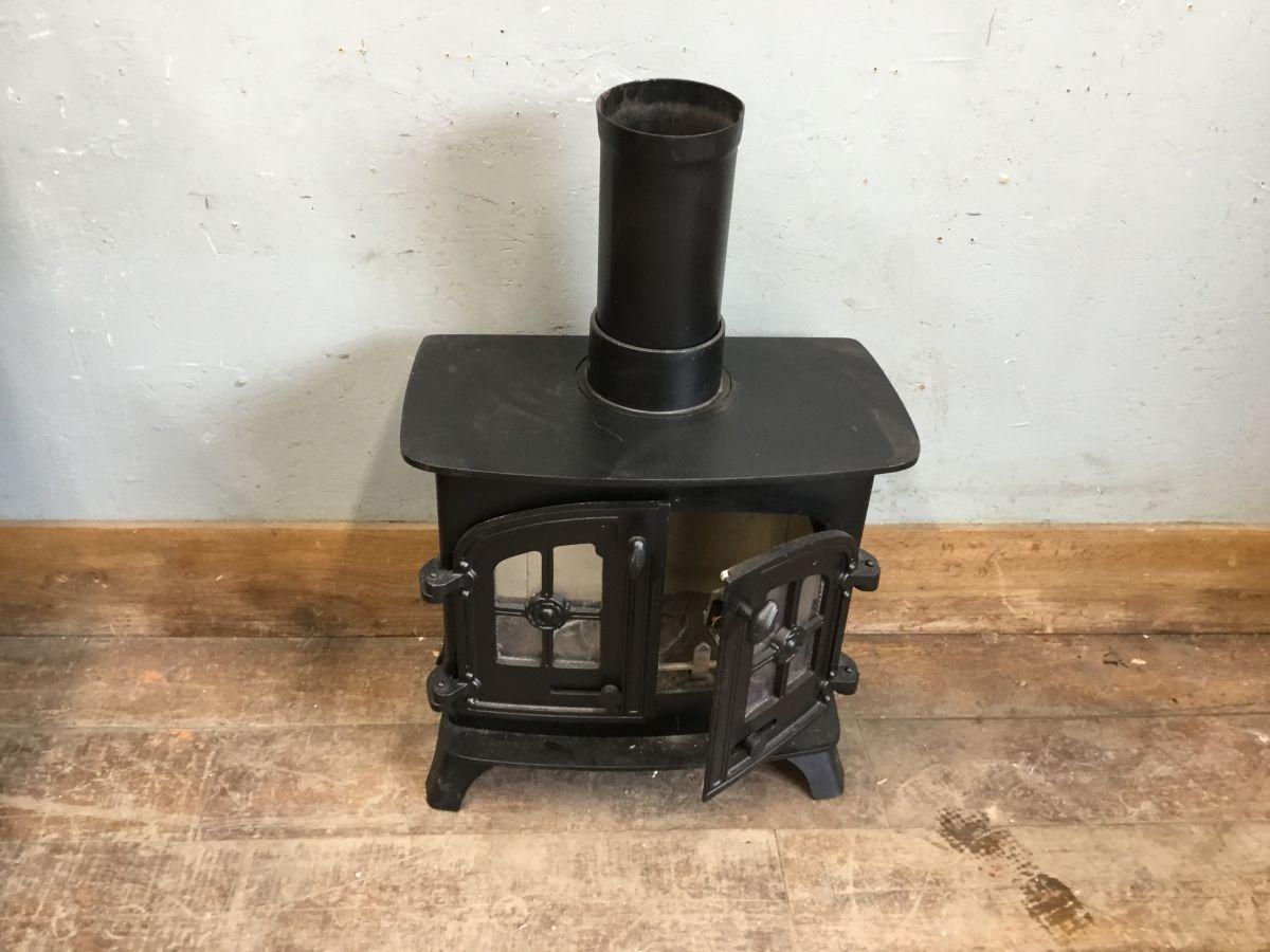 Black Wood Burner