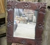 Decorative Floral Mirror