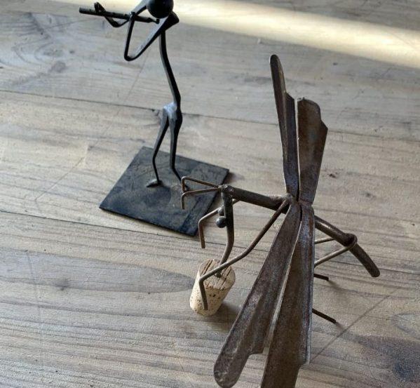 Small Iron Sculptures