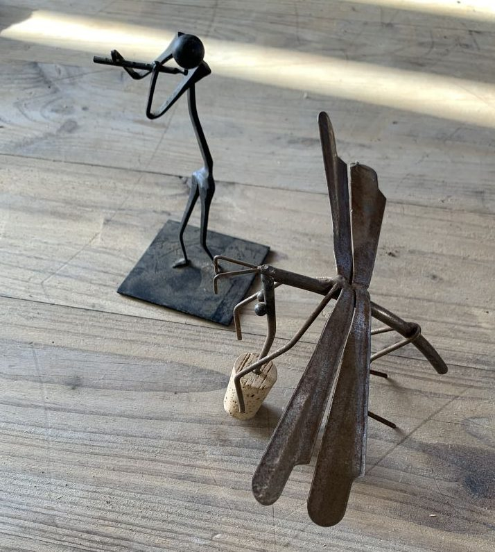 Small Iron Sculptures