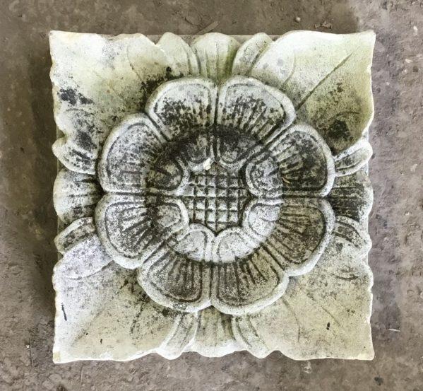 Floral Stone Plaque