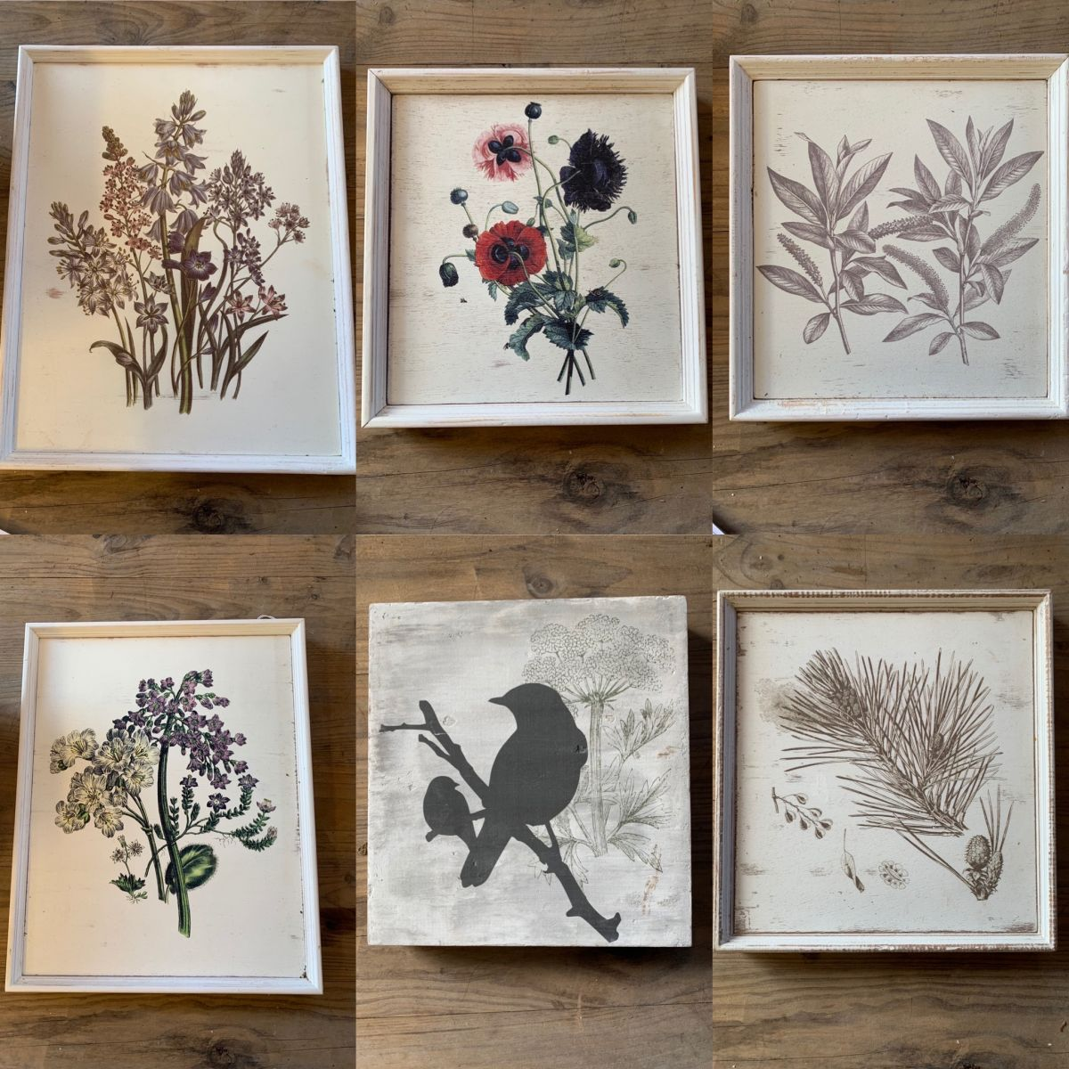 Reclaimed Wooden Wilderness Prints