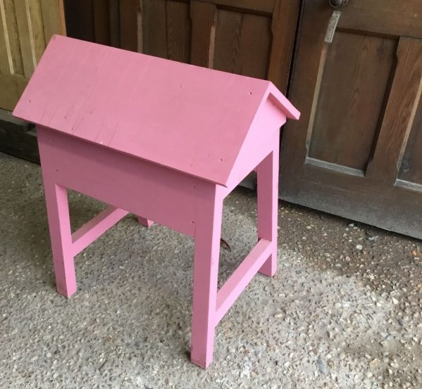 Pink Wooden Saddle Rack