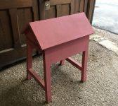 Pink Wooden Saddle Rack