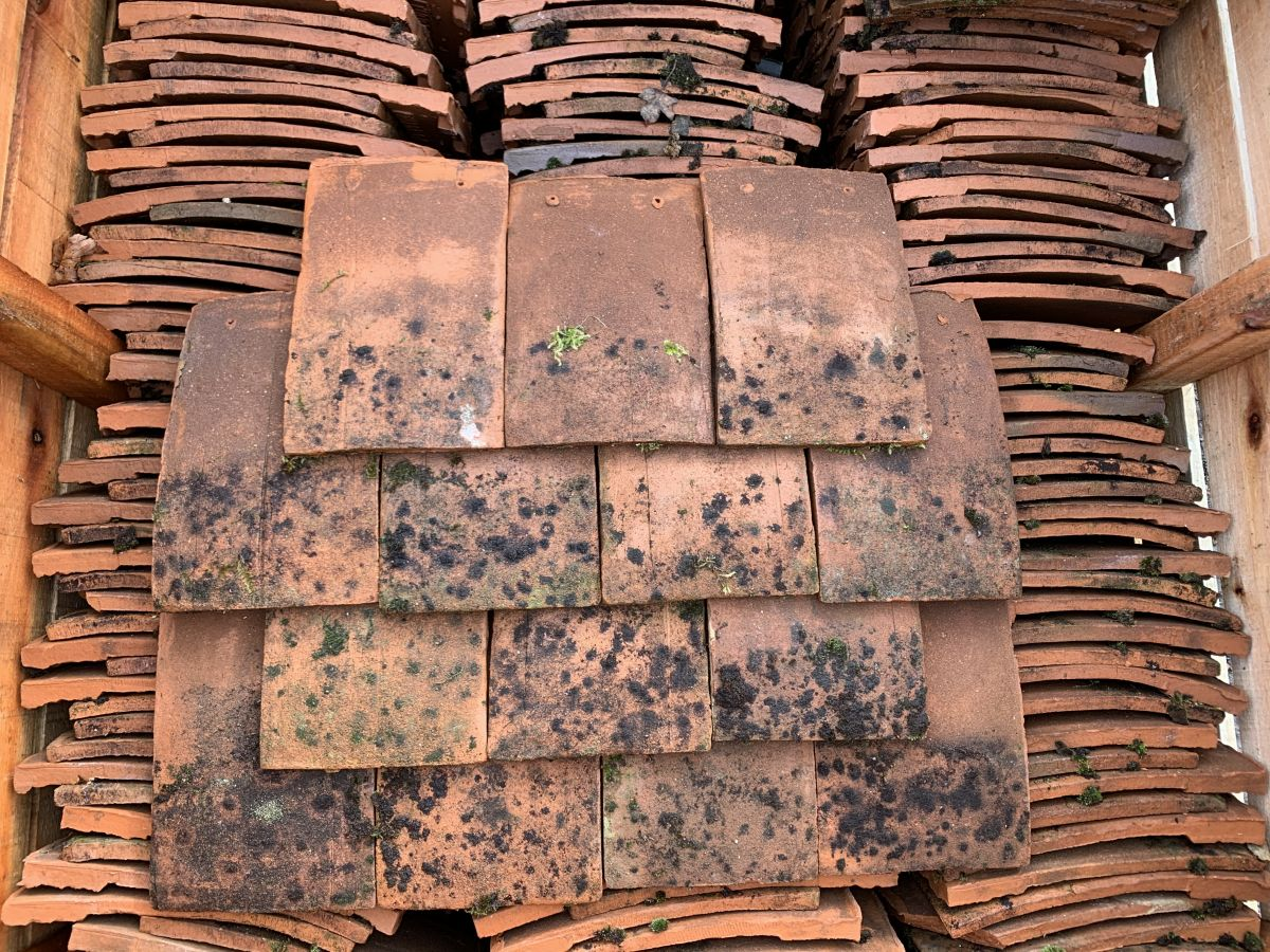 Orange Tudor Roofing Tiles