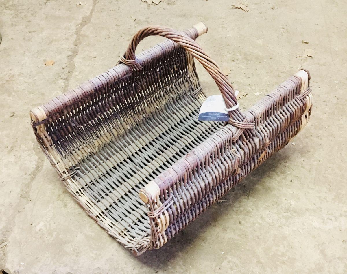 Traditional Hand Wicker Basket