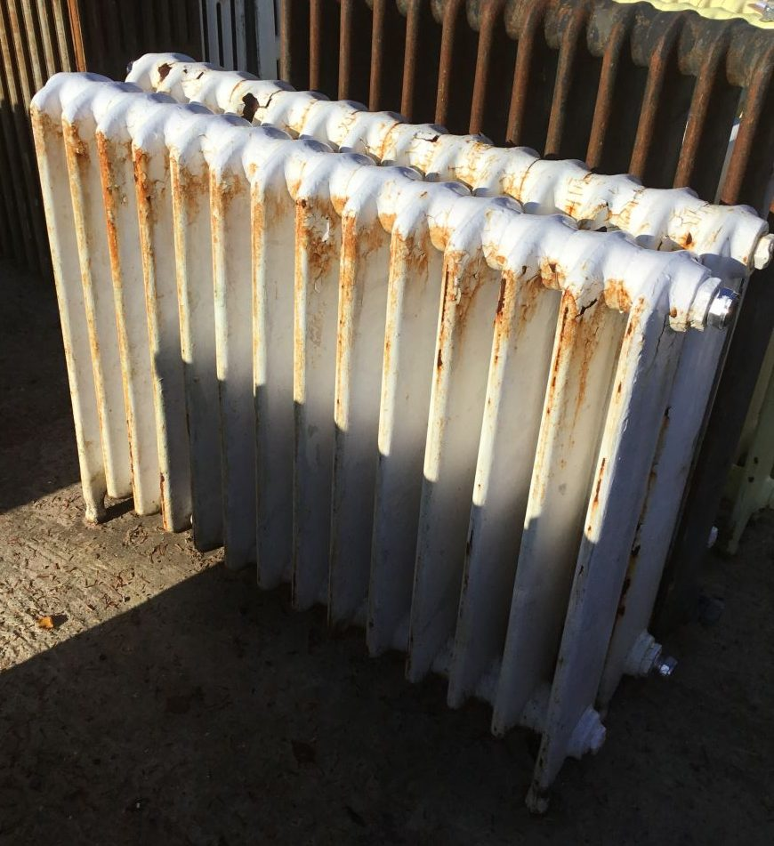 White School Radiator