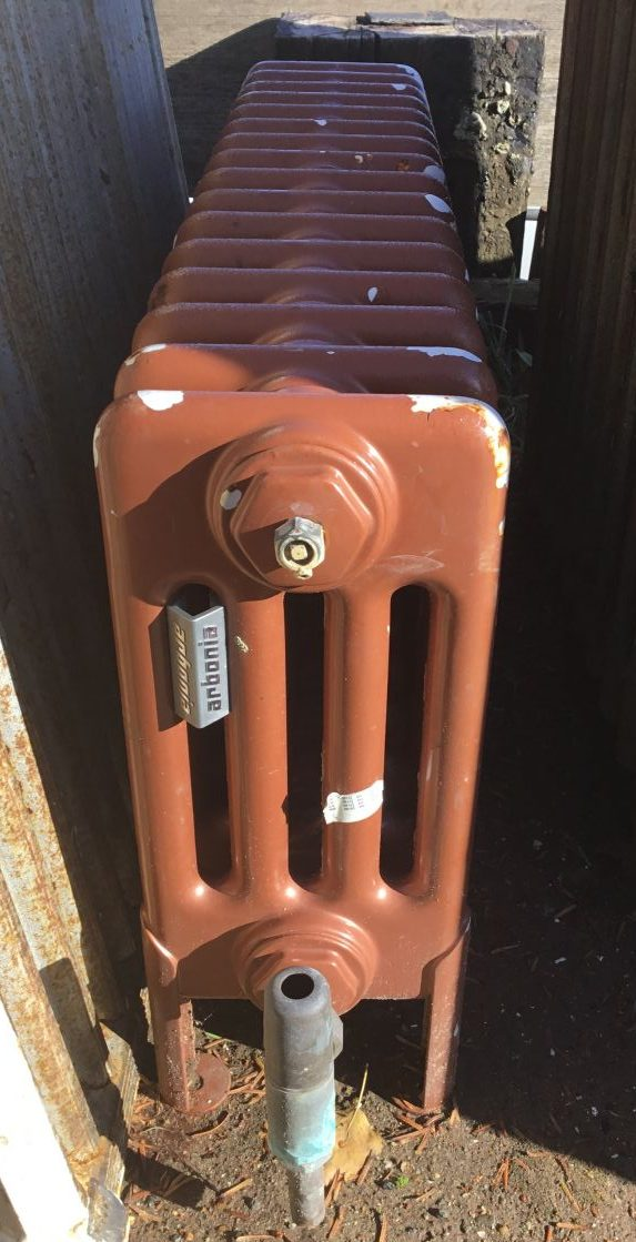 Brown 4 Bar Radiator