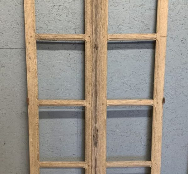 Window Panel without Glass