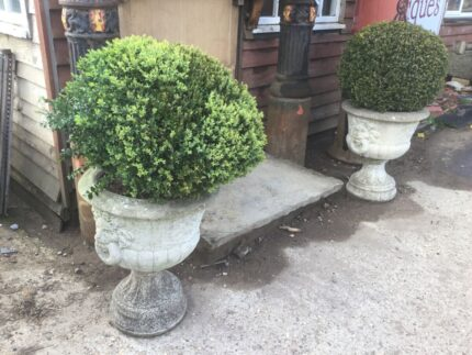 reclaimed garden features