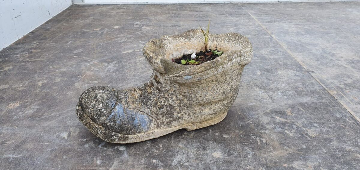 Concrete Filled Boot