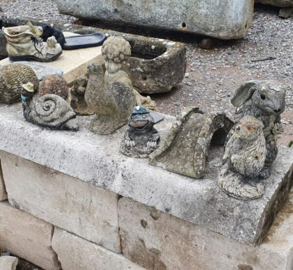 Assorted Small Statues