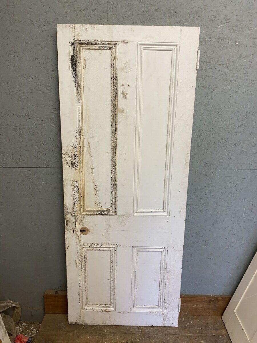 Beaded Reclaimed Painted Door