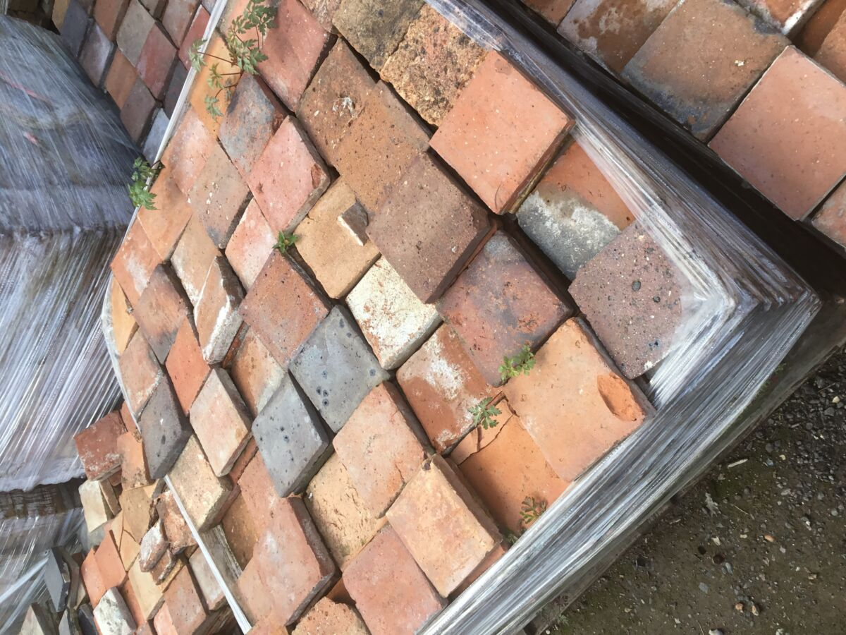 6 1/2 Square French Tiles
