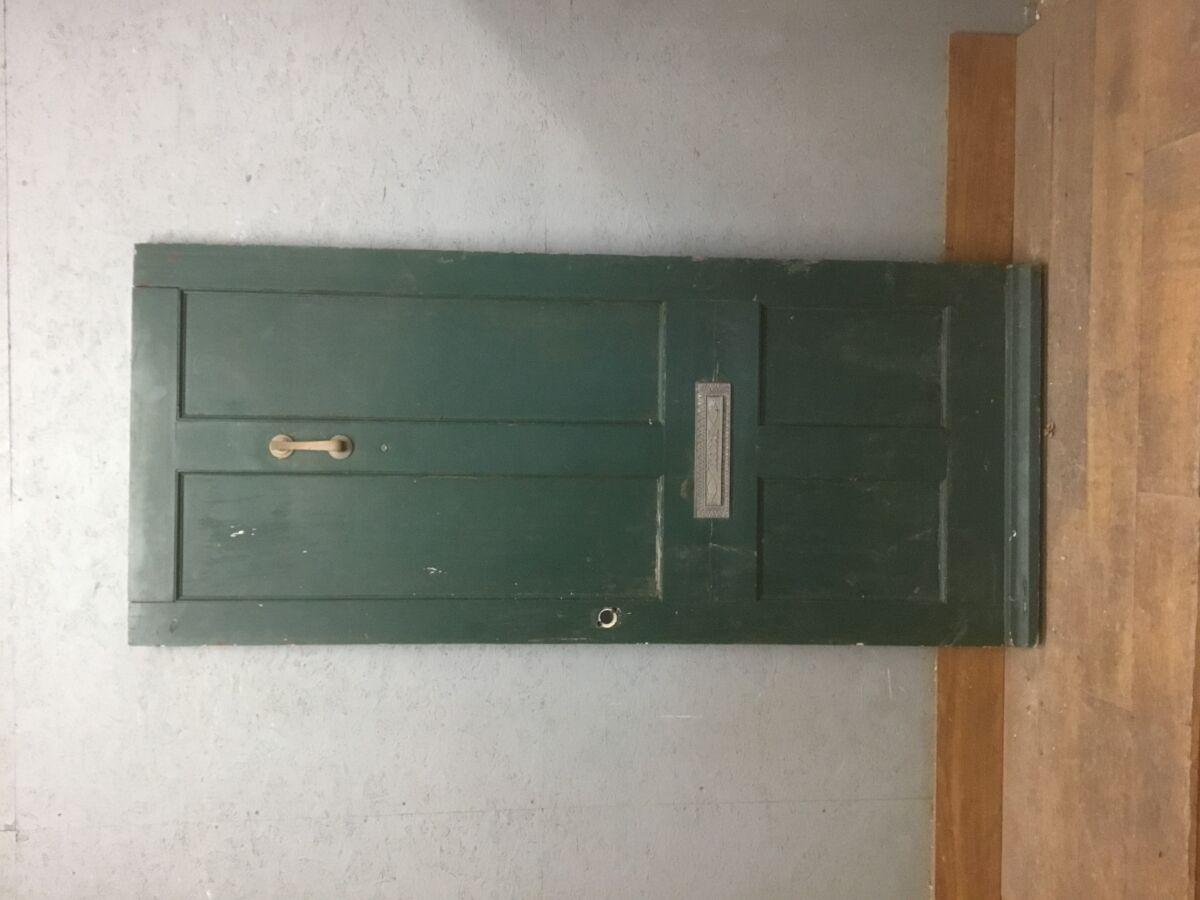 Large Green Front Door