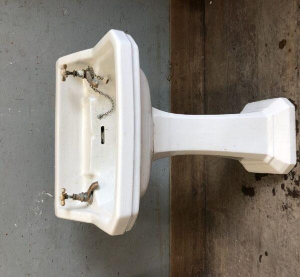 Reclaimed 'Standard' Sink w/ Pedestal
