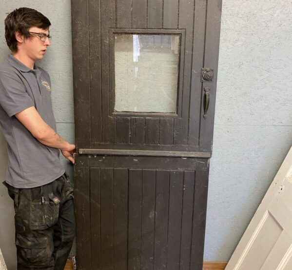 Reclaimed Stable Painted Door