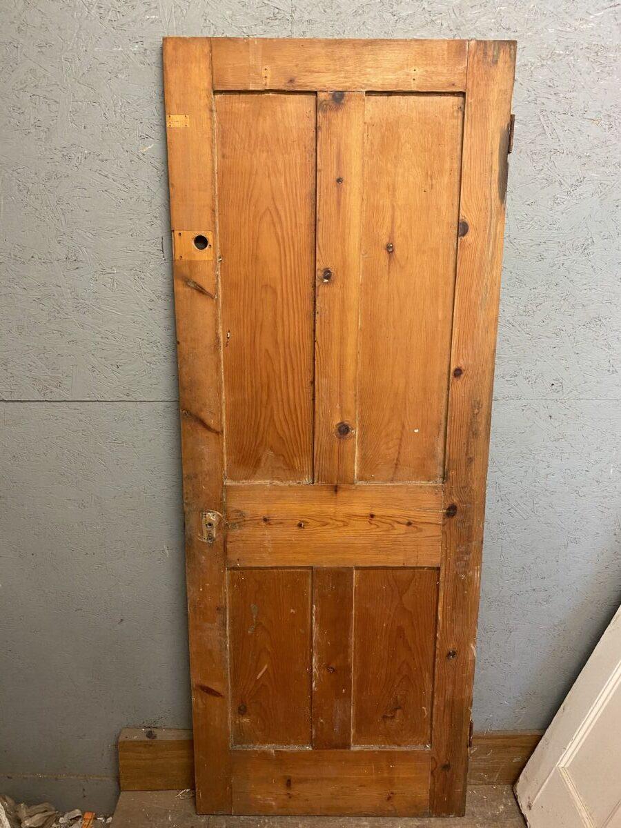 Stripped 4 Panel Door