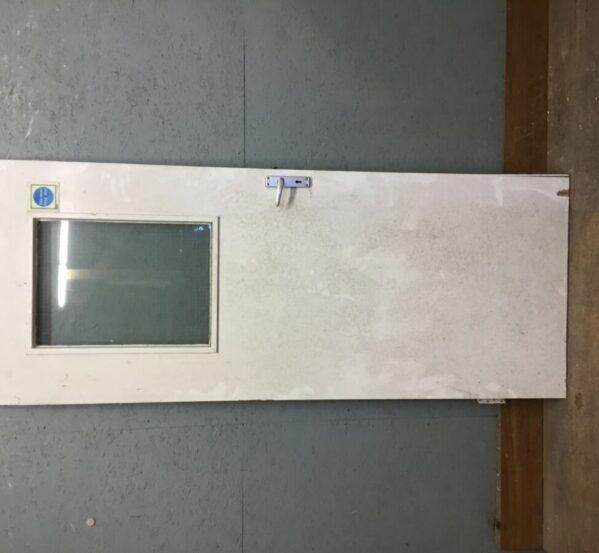 Fire Exit Glass Panel Door