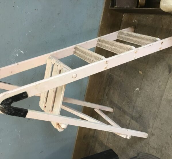 Pink Wooden Step Ladder