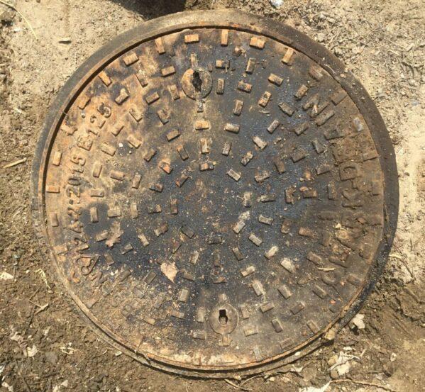 Reclaimed Circle Clark Drain