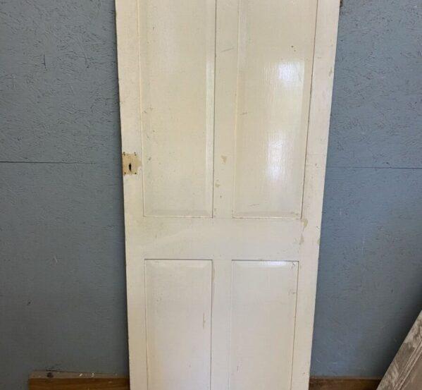 Painted Four Panel Door