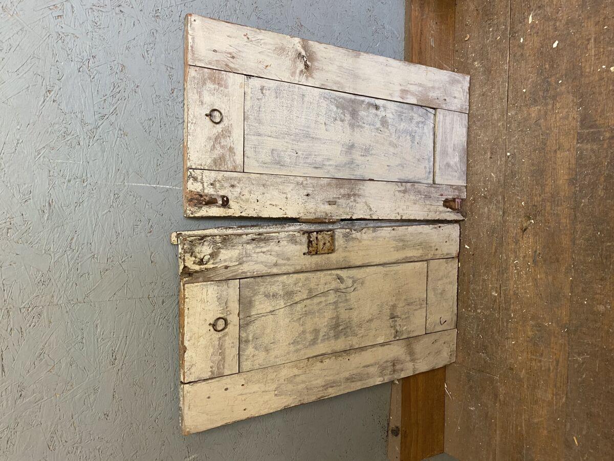 Reclaimed 1/2 Painted Cupboard Doors