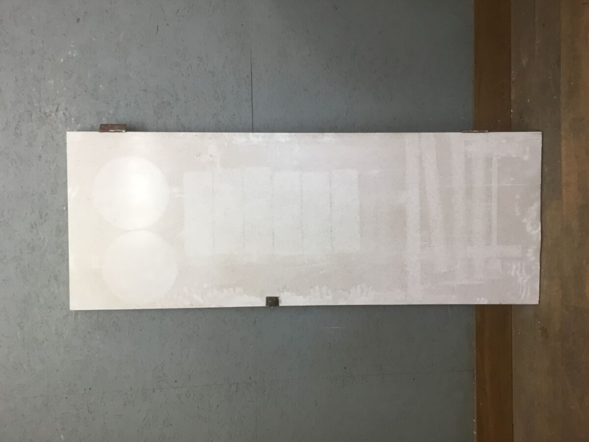 Large White Heavy Cupboard Door