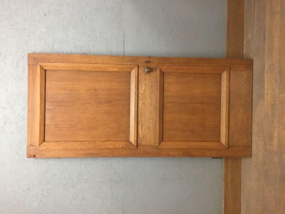 Solid Oak 1 Over 1 Panel