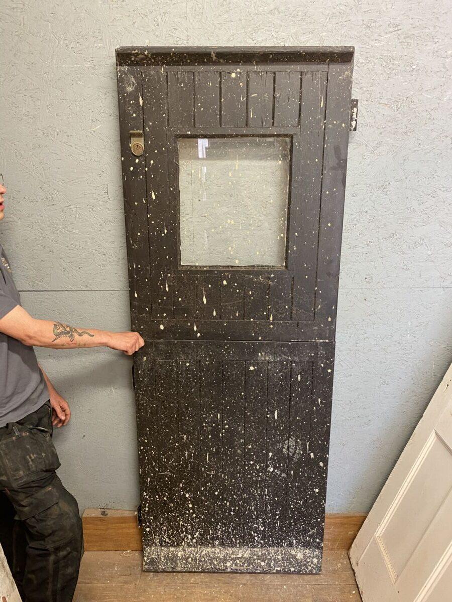 Painted Reclaimed Stable Door