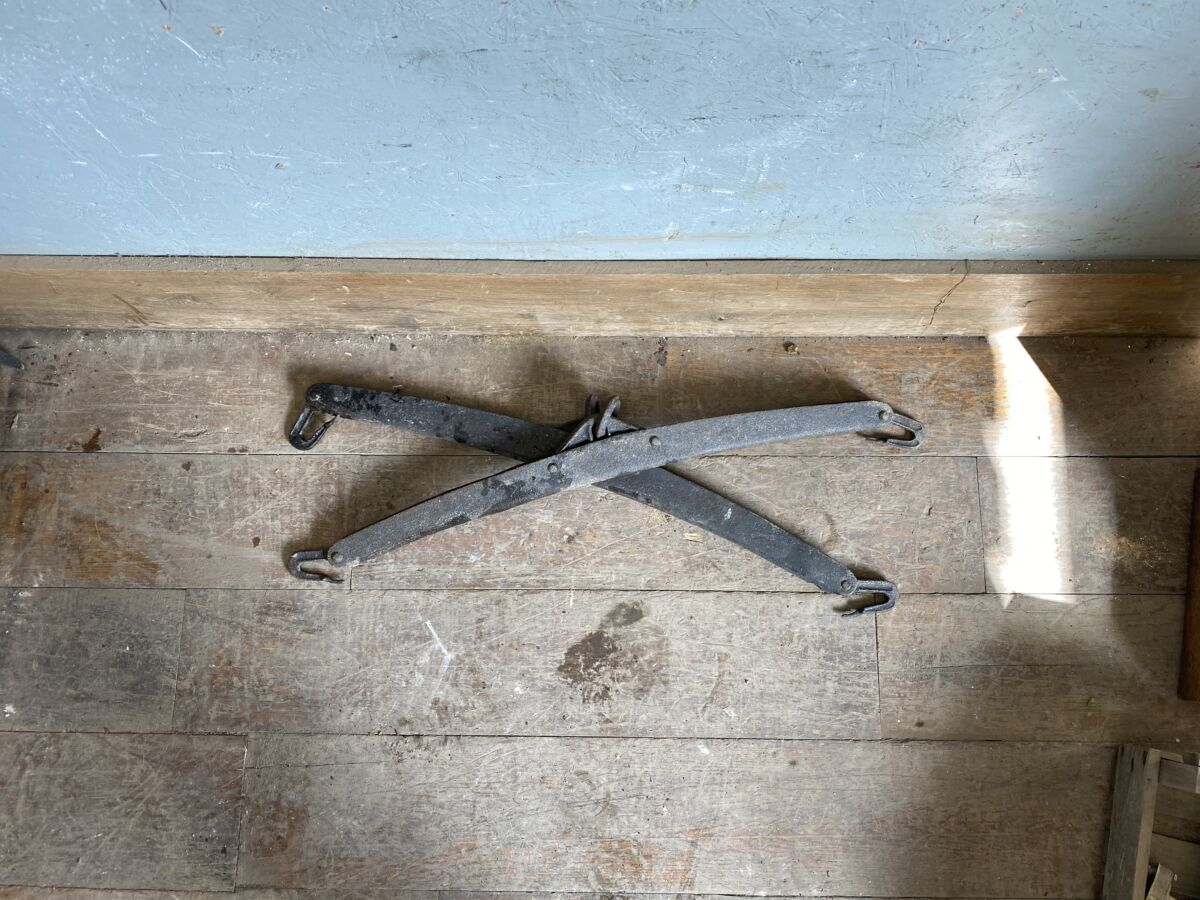 Reclaimed Horse Harness Pair