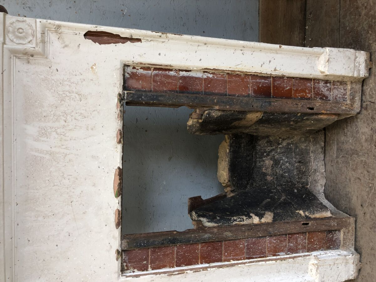 Reclaimed Fire Surround