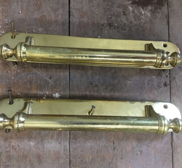 Pair of Brass Door Handles