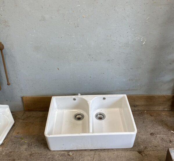 Reclaimed Double Butler Sink