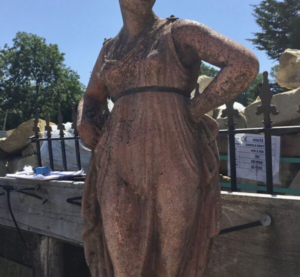 Red Lady Statue